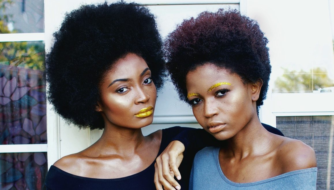 Fros and Gold from Miss Cameroon